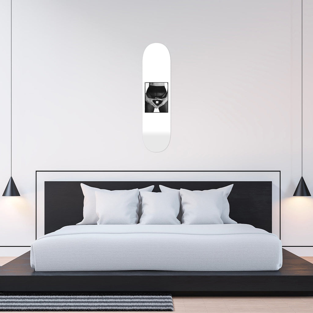 N˚6 - By Nick Sabatalo - Skateboard - HYLUS Acrylic Glass Art - Skateboards, Surfboards & Glass Prints Wall Decor for your Home.