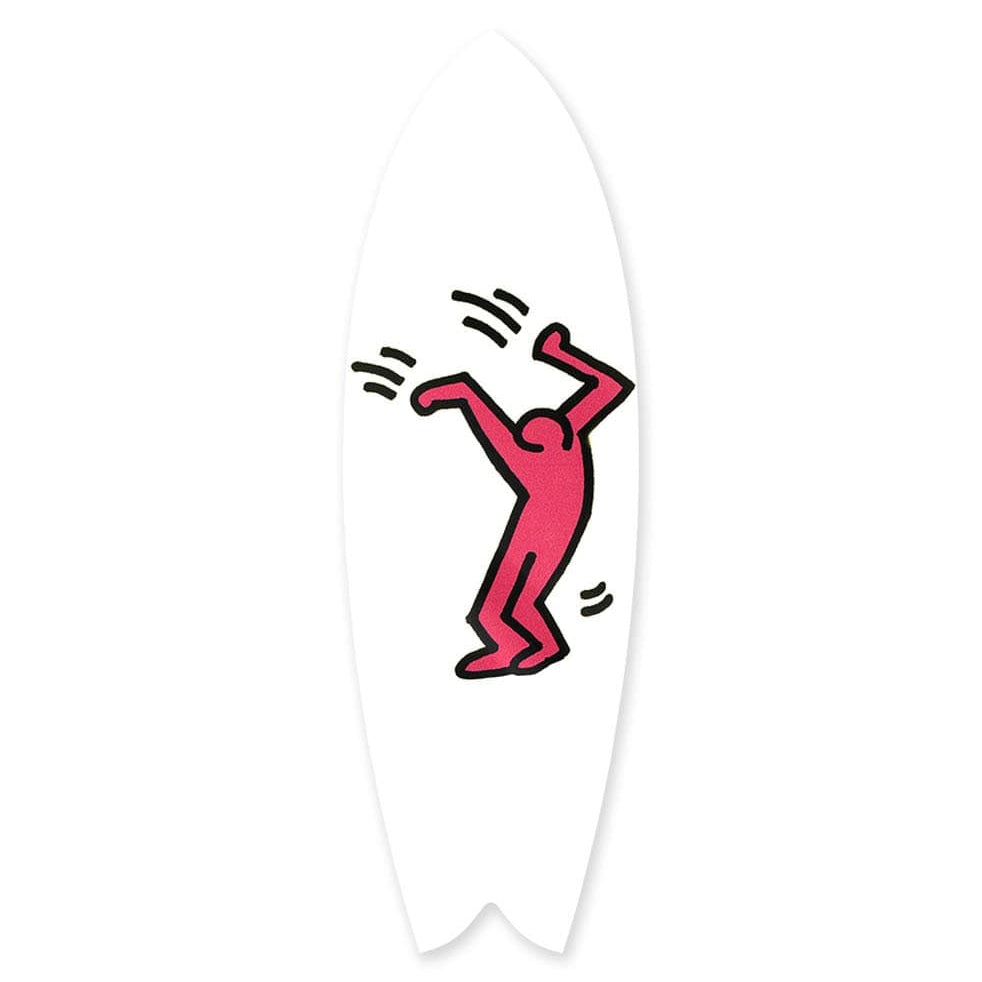 """Joyful Magenta"" - Surfboard - HYLUS Acrylic Glass Art - Skateboards, Surfboards & Glass Prints Wall Decor for your Home."