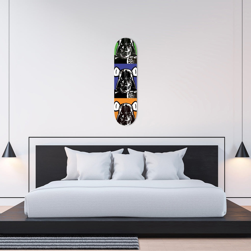 "Bundle: ""3x Space Bear"" - Skateboard - HYLUS Acrylic Glass Art - Skateboards, Surfboards & Glass Prints Wall Decor for your Home."