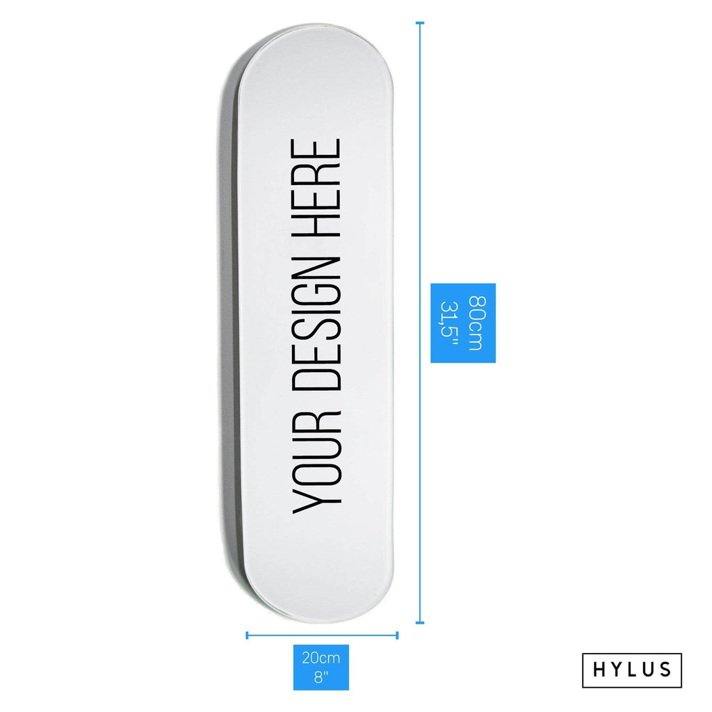 HYLUS Custom Design Fee - Skateboard - HYLUS Acrylic Glass Art - Skateboards, Surfboards & Glass Prints Wall Decor for your Home.