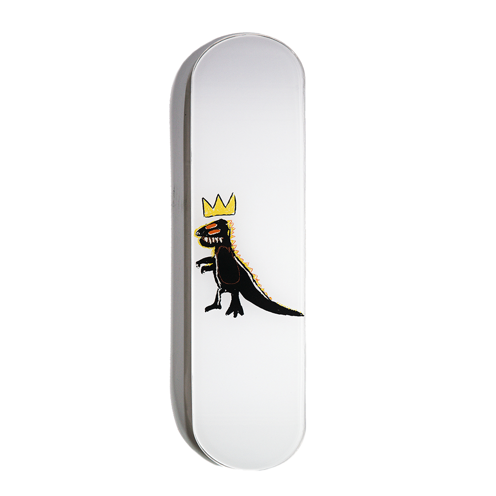 """Dino"" - Skateboard - HYLUS Acrylic Glass Art - Skateboards, Surfboards & Glass Prints Wall Decor for your Home."