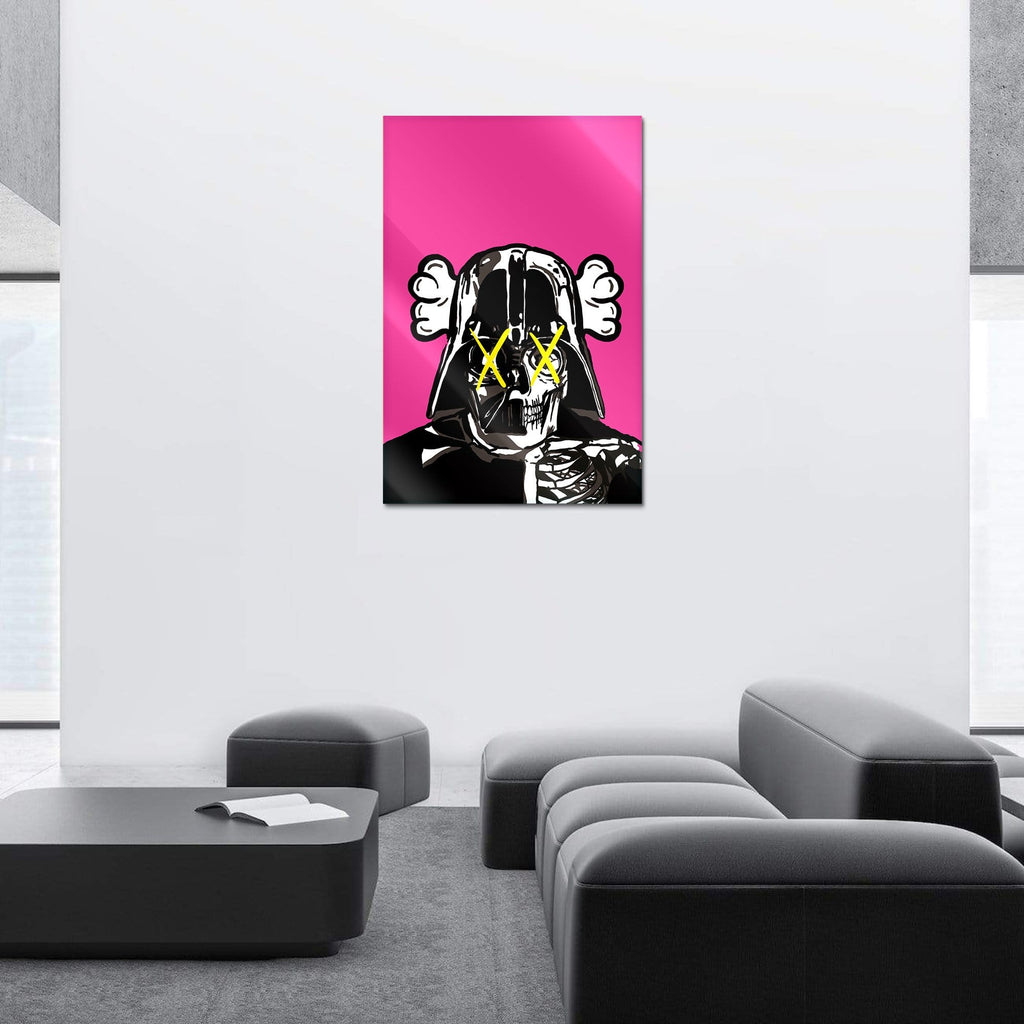 """Space Soldier X"" - Glass Print - HYLUS Acrylic Glass Art - Skateboards, Surfboards & Glass Prints Wall Decor for your Home."