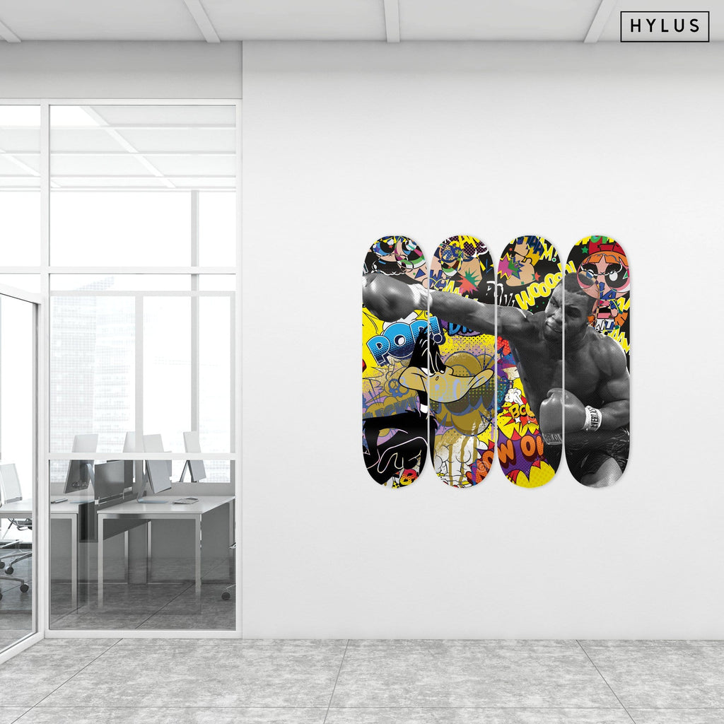 """Tyson"" - Skateboard - HYLUS Acrylic Glass Art - Skateboards, Surfboards & Glass Prints Wall Decor for your Home."