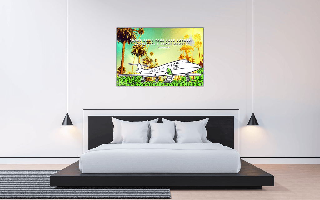 """PJ"" - Glass Print - HYLUS Acrylic Glass Art - Skateboards, Surfboards & Glass Prints Wall Decor for your Home."