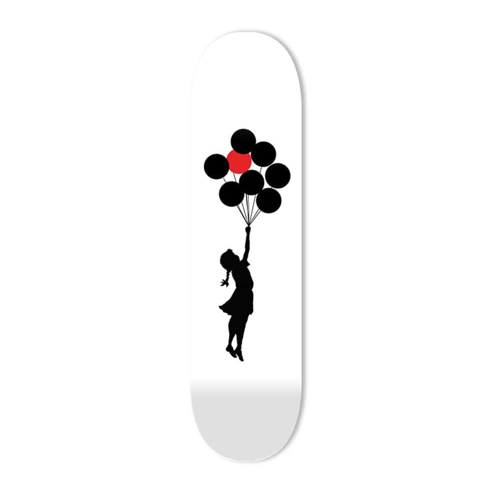 """Hope"" - Skateboard - HYLUS Acrylic Glass Art - Skateboards, Surfboards & Glass Prints Wall Decor for your Home."