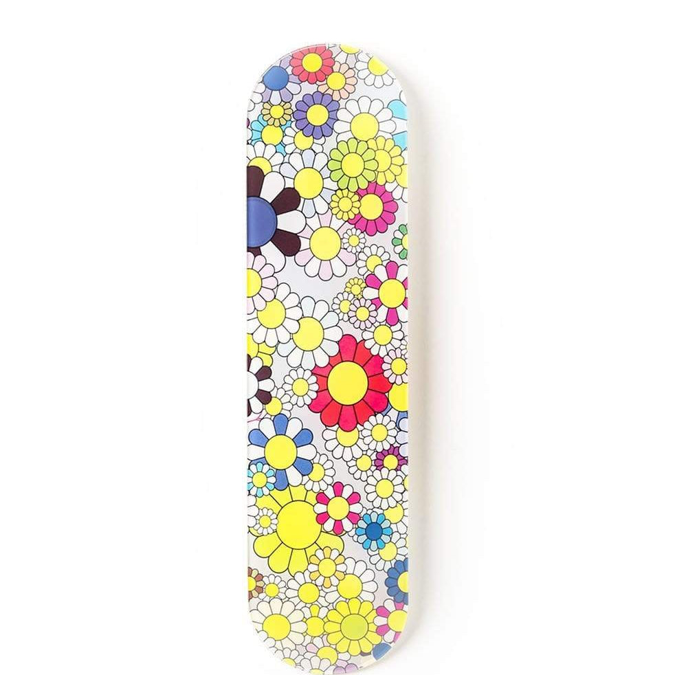 """Bloom"" - Skateboard - HYLUS Acrylic Glass Art - Skateboards, Surfboards & Glass Prints Wall Decor for your Home."
