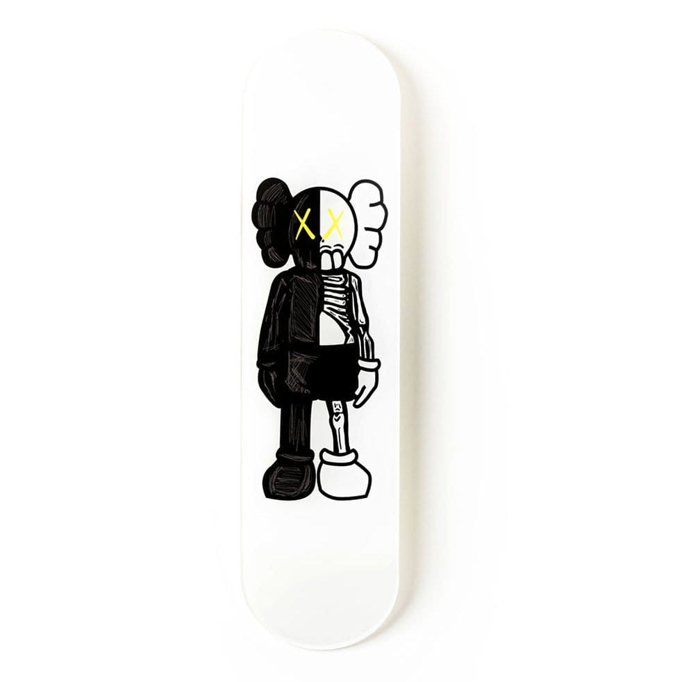 """Buddy Black"" - Skateboard - HYLUS Acrylic Glass Art - Skateboards, Surfboards & Glass Prints Wall Decor for your Home."
