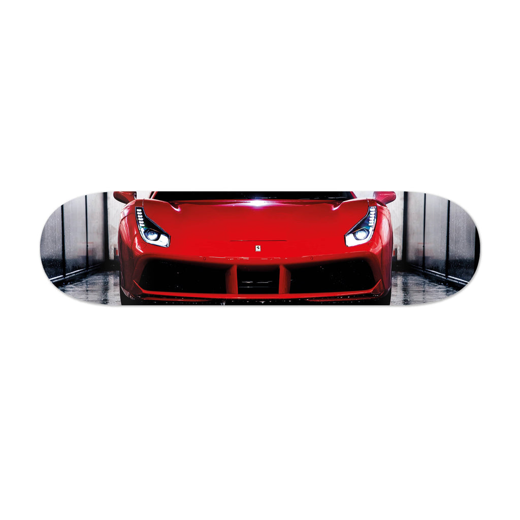 "HYLUS X Lord Aleem - ""Rari Front"" - Skateboard - HYLUS Acrylic Glass Art - Skateboards, Surfboards & Glass Prints Wall Decor for your Home."