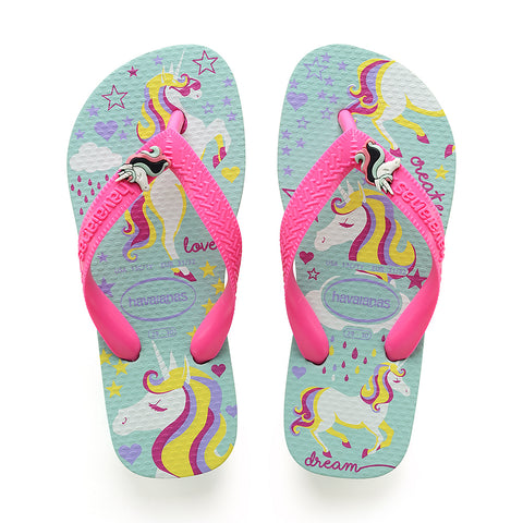 KIDS FANTASY UNICORN FLIP FLOPS