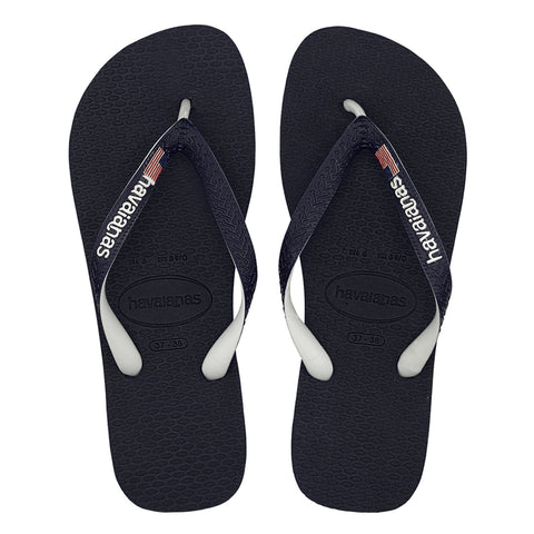MEN'S USA LOGO FLIP FLOPS