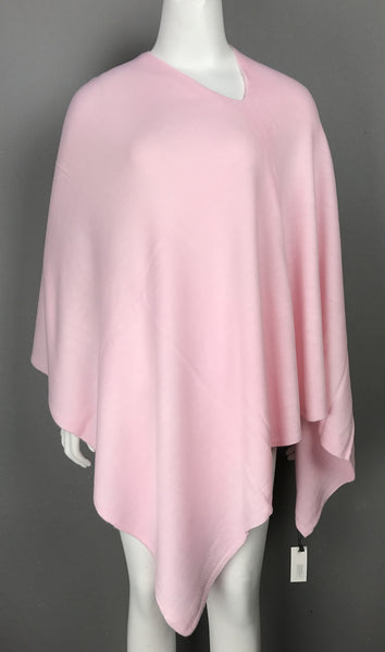 LADIES PONCHO – PINK HUES