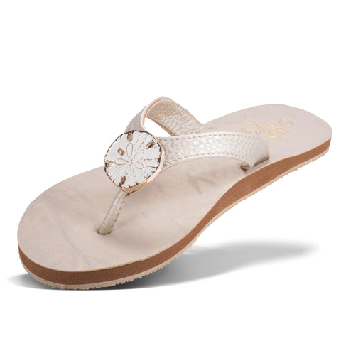 MARTINIQUE SAND DOLLAR SANDAL
