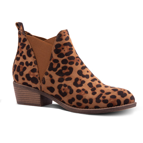 CYPRESS ANIMAL PRINT BOOTIE – LEOPARD