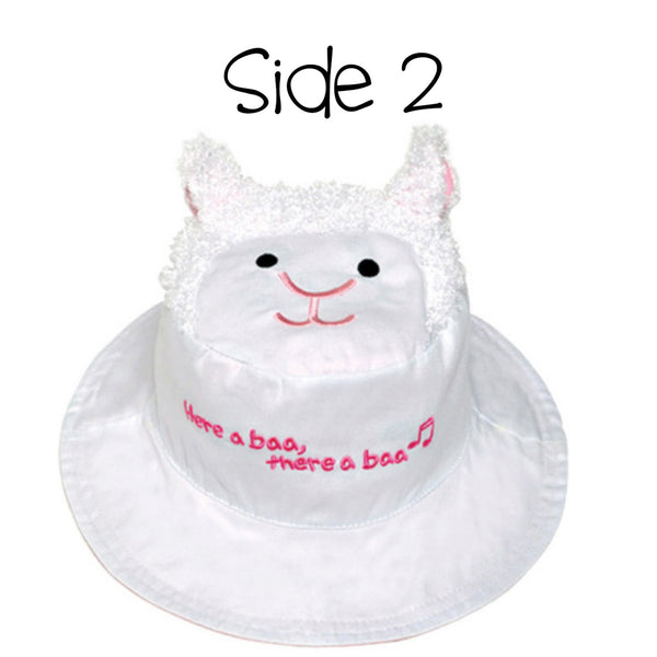 Kids' Sunhat - Kitten/Lamb