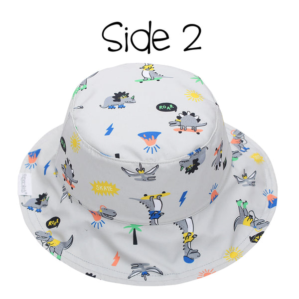 Kids' Patterned Sun Hat - Dino