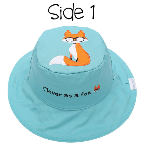 Kids' Sunhat - Fox/Hedgehog