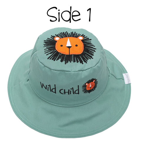 Kids' Sunhat - Lion/Sloth