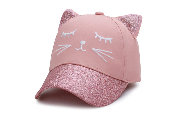 Kids' 3D Caps - Cat