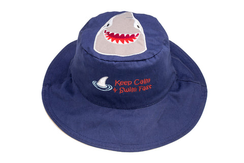 Kids' Sunhat - Shark/Crab