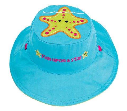 Kids' Sunhat - Starfish/Fish