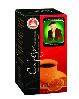 Decaf French Roast Single Cup Coffee Pods (As low as $0.50 Per Cup)