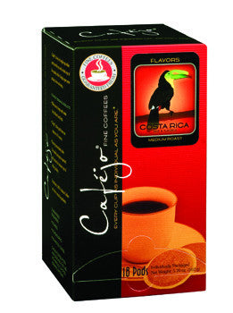 Costa Rica Single Cup Coffee Pods (As low as $0.50 Per Cup)