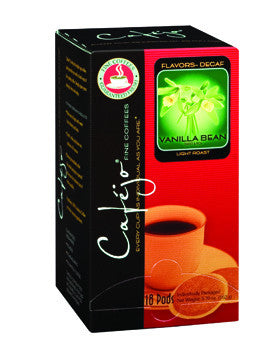 Decaf Vanilla Bean Single Cup Coffee Pods (As low as $0.50 Per Cup)