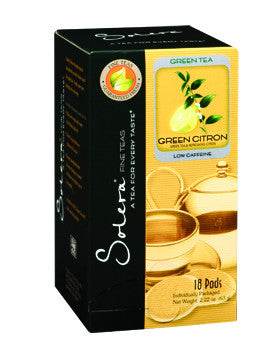 Green Citron Single Cup Tea Pods (As low as $0.50 Per Cup)
