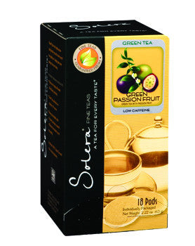 Green Passion Fruit Single Cup Tea Pods (As low as $0.50 Per Cup)