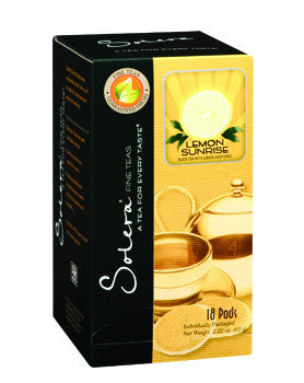 Lemon Sunrise Single Cup Tea Pods (As low as $0.50 Per Cup)
