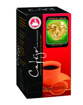 Decaf Colombian Single Cup Coffee Pods (As low as $0.50 Per Cup)