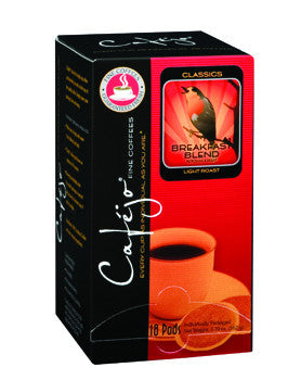 Breakfast Blend Single Cup Coffee Pods (As low as $0.50 Per Cup)