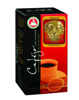 Colombian Gold Single Cup Coffee Pods (As low as $0.57 Per Cup)