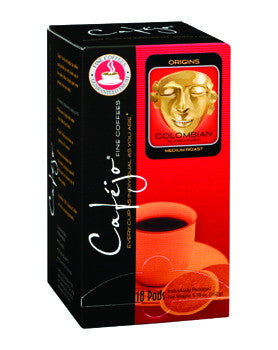 Colombian Single Cup Coffee Pods (As low as $0.50 Per Cup)