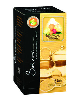 Tropical Breeze (Black Tea) Single Cup Tea Pods (As low as $0.50 Per Cup)