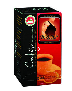 Adrenaline Explosion Single Cup Coffee Pods (As low as $0.50 Per Cup)