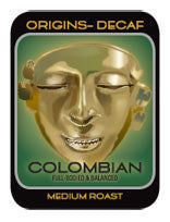 DECAF Colombian Coffee Pods (Box of 300) - $0.36 Per Pod