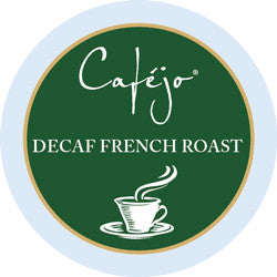 Decaf French Roast - Dark Roast Single Serve Cups