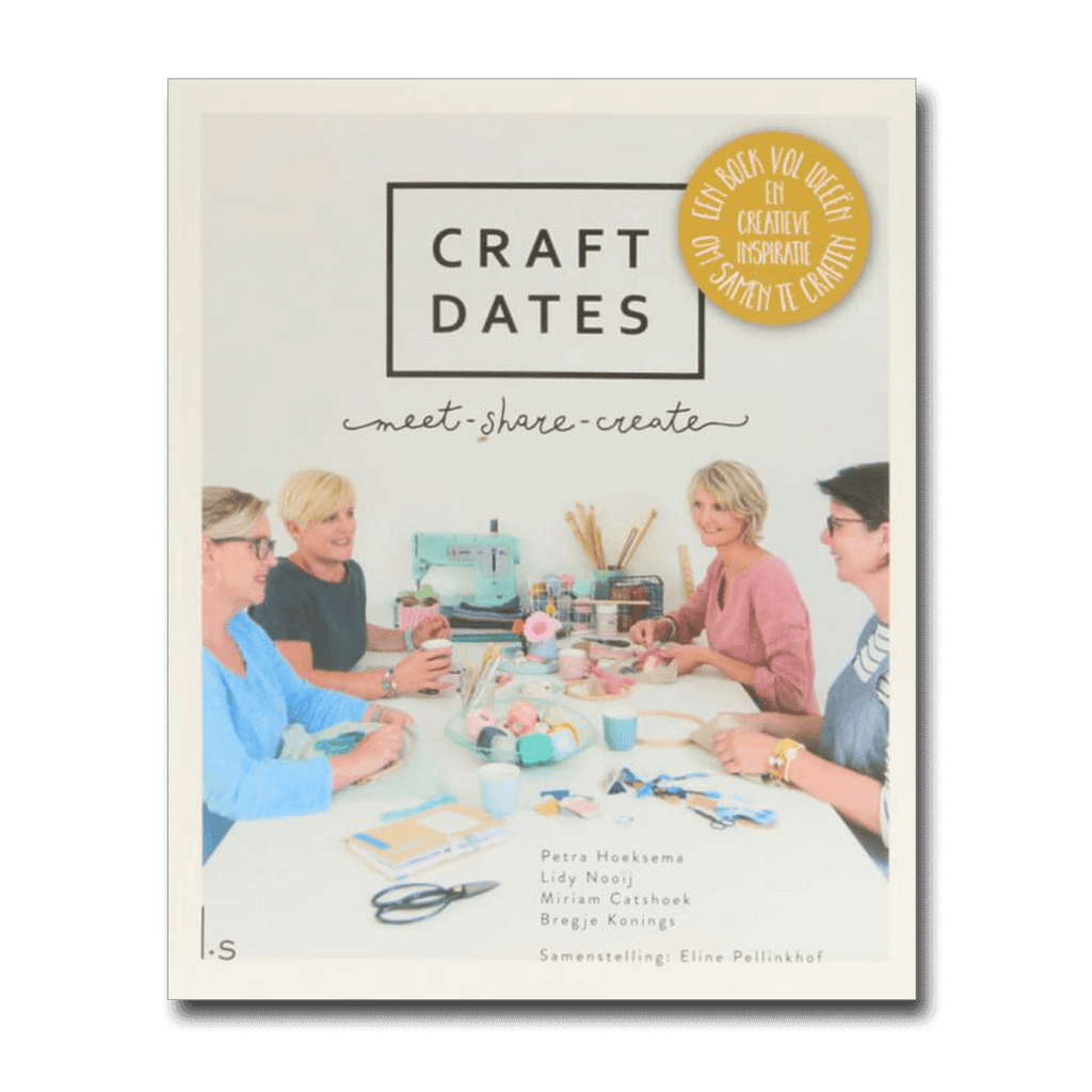 Craft dates - Petra, Lidy, Miriam en Bregje