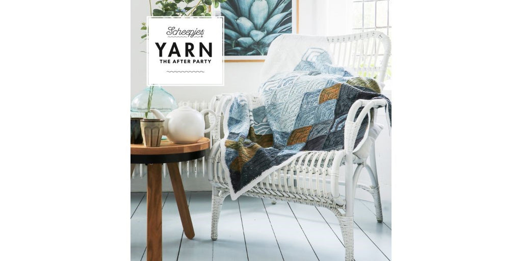 Yarn the after party nr. 65 - Mountain clouds blanket
