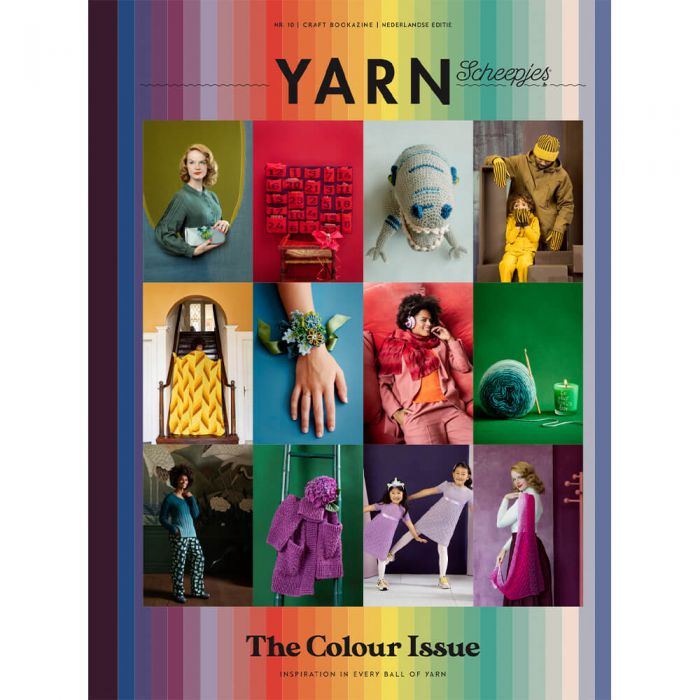 Scheepjes Yarn Bookazine 10 - The colour issue