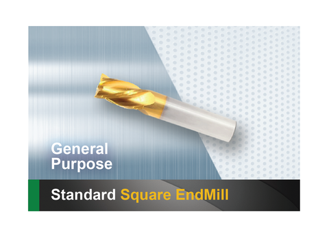 Standard Square End Mill SCTools HTC