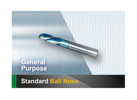 Standard Ball Nose End Mill SCTools HTC