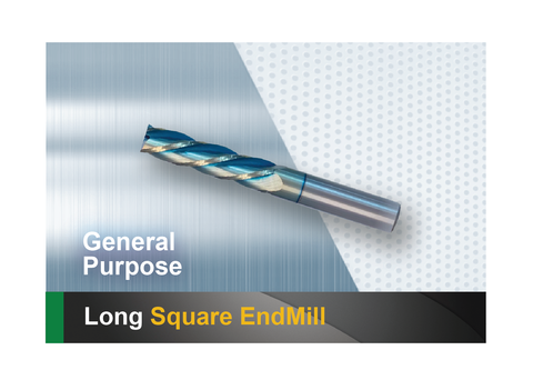 Long Square End Mill SCTools HTC