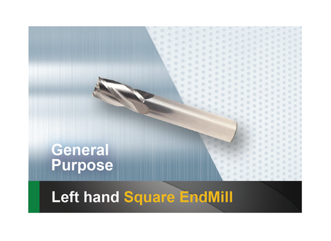 Left Hand Square End Mill SCTools HTC