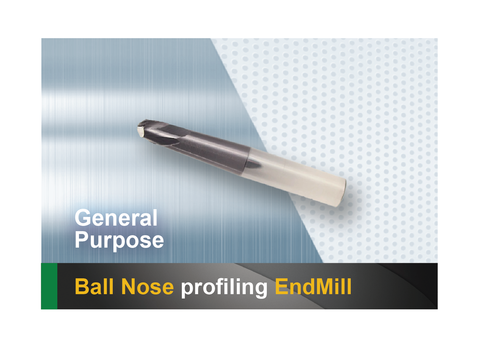 Ball Nose Profiling End Mill SCTools HTC
