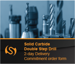 Solid Carbide Double Step Drill Order Form