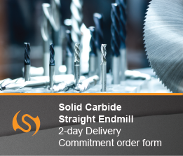 Solid Carbide Endmill Straight