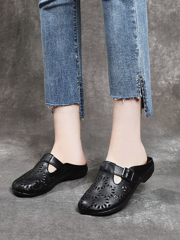Hollow Out Comfortable Flat Slipper