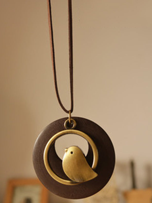 Cute Bird Shape Necklaces Accessories